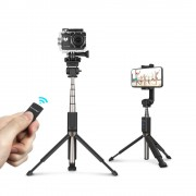 Selfie Stick Tripod BlitzWolf BW-BS5 3 in 1 cu Telecomanda Bluetooth detasabila