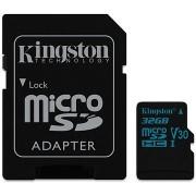 Kingston Canvas Go! MicroSDHC 32GB UHS-I U3 + SD adapter