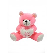 ''PRACHI TOYS'' Permium Quality Soft Plush Teddy Bear with Heart for Kids Children Boy and Girls (Pink) 30CM