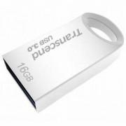 Памет Transcend 16GB JetFlash 710, USB 3.0, Silver Plating - TS16GJF710S