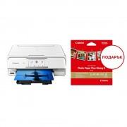 MFP, CANON PIXMA TS8151, AIO, InkJet, Duplex, WiFi + подарък пакет фото-хартия (2230C026AA)