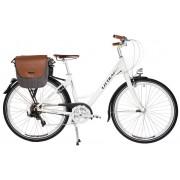LITTIUM BY KAOS Bicicleta Elétrica BERLIN Branco / Castanho