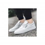Moda salvaje moda casual monopatin zapatos hombre blanco