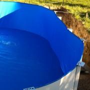 Liner pentru piscina cu dimensiunile 3,5m x 0,9m