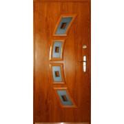 Drzwi stalowe z przeszkleniem FLORYDA