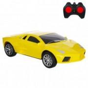 Masinuta Lamborghini galben telecomanda control