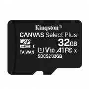 Kingston Canvas Select Plus Card MicroSD 32GB Class 10 A1