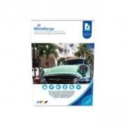 Фото Хартия MediaRange, DIN A4, за мастиленоструйни принтери, гланцово покритие, 180 g, 50 листа, MRINK117