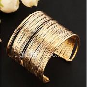 Dames Cuff armbanden Uniek ontwerp Modieus Meerlaags Open Europees Vintage Kostuum juwelen Legering Sieraden Sieraden Voor Feest