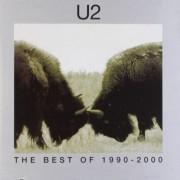 U2 Best of 1990-2000 CD-multicolor Onesize Unisex