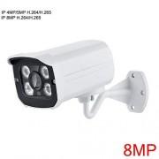 MOVE CC Ultra HD cámara IP para Exteriores, 8 MP, 4 K, cámara de vigilancia de Seguridad, cámara de vídeo IP IR, visión Nocturna, detección de Movimiento, grabación de Alerta, 4MP DC 12V, 2.8mm