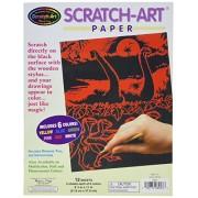 Melissa & Doug Scratch Art Paper Solid Color Assortment With Stylus - 12 Sheets, 6 Colors