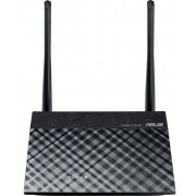 Router Wireless ASUS RT-N11P, 300 Mbps, 2 Antene externe (Negru)