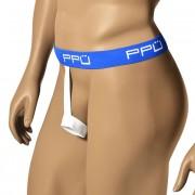 PPU O Ring Jock Strap Underwear Blue/White 1321