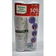 Klorane Duo Shampoo Secco All'Avena 2 X 150 Ml