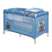 Krevetac prenosivi za bebe Baby Nanny 2 Nivoa Blue Adventure BERTONI