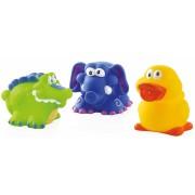 Nuby Zwemmende Badfiguren Set van 3 stuks