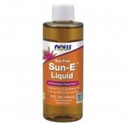Now Foods Vitamín E Sun Liquid 118 ml kapky