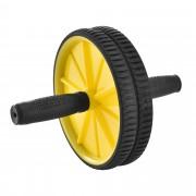 [pro.tec]® Колело за тренировка на коремните мускули 25 x 18 x 18 см - фитнес аксесоар