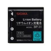 Sigma Lithium-ion Battery BP-31 Ioni di Litio batteria ricaricabile