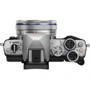 Aparat Foto Digital Compact Olympus E-M10 Mark II + EZ-M1442EZ Gri
