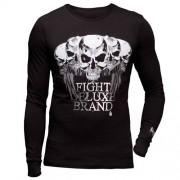 BOXEUR DES RUES T-Shirt LS Front Big Print Avantgarde BOXEUR DES RUES - VitaminCenter