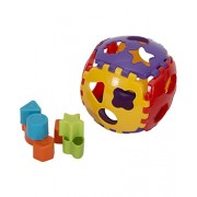 Aaryan Enterprise Educational Shape Sorter Ball with Shapes all around the Detachable Ball for Kids Ages 1+, Non Toxic