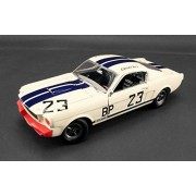 1965 Ford Shelby Mustang GT350 R 23 Charlie Kemp The Winningest Shelby Ever Limited to 996pcs 1/18 by Acme A1801812