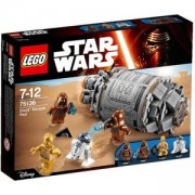 Конструктор ЛЕГО СТАР УОРС - Капсула за бягство на Дроидите, Lego Star Wars, 75136 - в бяла кутия, без минифигури