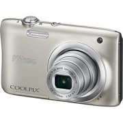 Nikon Coolpix A100 Point Shoot Camera(Silver)
