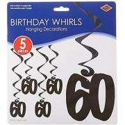 60 Whirls (black) (5/Pkg)