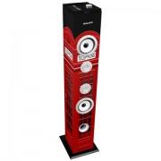 Majestic 115085_US Torre Audio Multimediale ad Alta Potenza con Subwoofer e con Bluetooth 2.1 + ERD, Multicolore
