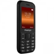 Мобилен телефон Prestigio Wize G1 (черен) поддържа 2 sim карти, 2.4 (6.10cm), 32MB RAM, 32MB Flash памет, Bluetooth, 104g, PFP1243DUOBLACK