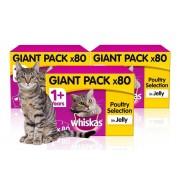 Trojan Electronics 2018 Ltd £22 (from Trojan) for 80 Whiskas cat 100g pouches, £42 for 160 Whiskas cat 100g pouches or £59 for 240 Whiskas cat 100g pouches