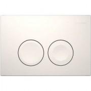 Clapeta actionare Dual-Flush Geberit Delta 21 pentru rezervor incastrat, alb alpin -115.125.11.1