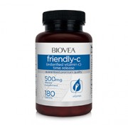 FRIENDLY-C (Esterfied Vitamin C Time Release) 500mg 180 Tablets