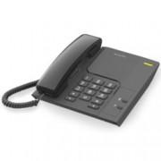 "Стационарен телефон Alcatel Temporis 26, монтаж на стена, бутон ""mute"", черен"