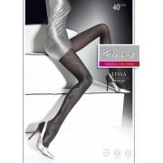 Fiore - Elegant patterned tights Tessa 40 DEN