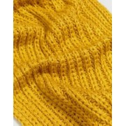 Oasis Cable Knit Scarf - Yellow