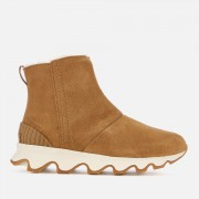 Sorel Women's Kinetic Short Boots - Camel Brown/Natural - UK 5