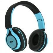 Maxy Art Cuffie Bluetooth Universali Ap-B04 Black-Blu Per Modelli A Marchio Doro