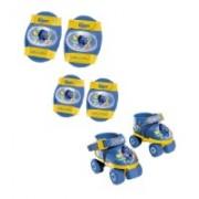 Role copii Mondo ajustabile Finding Dory 4 roti si accesorii protectie