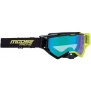 Moose Racing XCR Hatch Motocross Goggle Black Green One Size