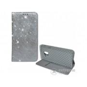 Gigapack preklopna korica za Samsung Galaxy A8 Plus (2018) SM-A730F, srebrna