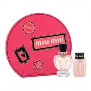 Miu Miu Miu Miu Twist confezione regalo eau de parfum 100 ml + lozione corpo 100 ml donna