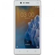 Nokia Produkt z outletu: Smartfon NOKIA 3 Dual SIM Srebrnobiały