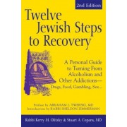 Twelve Jewish Steps to Recovery: A Personal Guide to Turning from Alcoholism and Other Addictions - Drugs, Food, Gambling, Sex..., Paperback