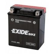 Exide YTX7L-BS 12V 6Ah motorkerékpár akkumulátor JOBB+ (+AJÁNDÉK!)
