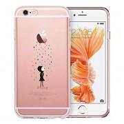 Husa APPLE iPhone 6\6S Plus - Jelly Clear (Transparent) Anti-Ingalbenire