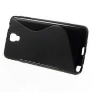 S-line силиконов гръб за Samsung Galaxy Note 3 Neo Lite N750 / Neo N7500 N7505 - черен